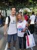 Náš student s paní učitelkou Leonor Marques